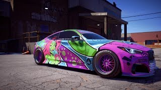 Infiniti Q60 S - Customisation & Decal Design [Need For Speed: Payback]