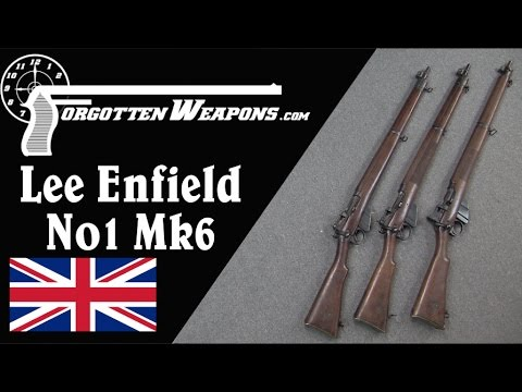 The Short Lived No1 Mk6 Smle Lee Enfield