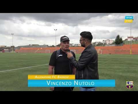 immagine di anteprima del video: BARRESE F.C. Vs. Agerola: Intervista a Mister Nutolo