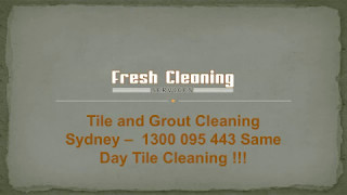 Expert Tiles and Grout Cleaning in Sydney