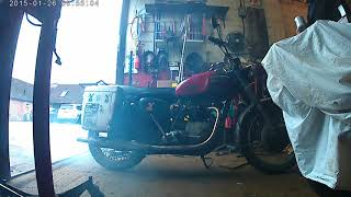 Starting Triumph after head gasket replacement.