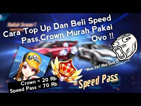 Cara Top Up Diamond,Speed Pass,Crown Murah Pakai Ovo !!! - Garena Speed Drifters