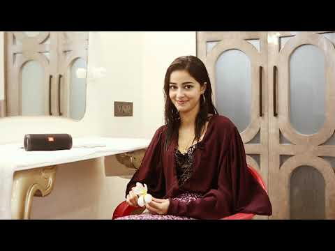 The Vanity Van Series With Ananya Panday   Ananya Pandey Interview   Grazia India