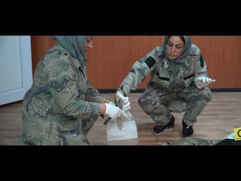 Concluso addestramento per le donne delle forze di polizia for Prova dello specchio polizia youtube