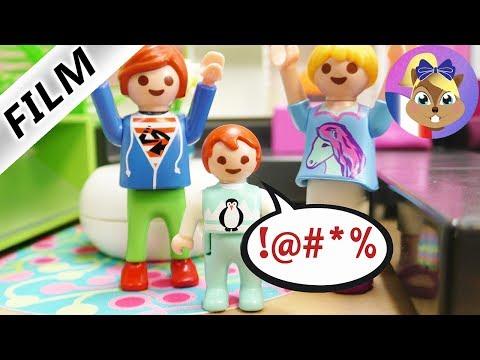 Film Playmobil en français - Le gros mot! Emma ne sait pas se retenir! Famille Brie