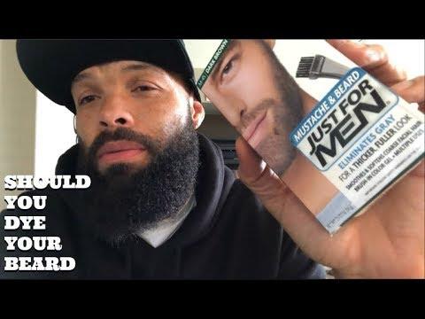 Should You Dye Your Beard / The Reason I Dye