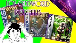 Los Oddworld portátiles