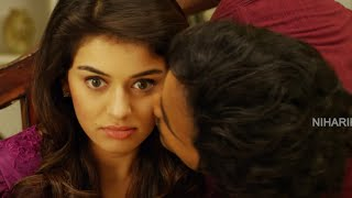 Manchu Vishnu Kissing Hansika || Romantic Scene || Pandavulu Pandavulu Tummeda Movie Scenes