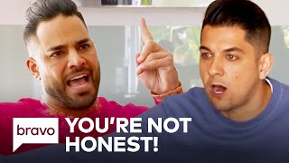 Nema Vand and Mike Shouhed Attack Each Other's Relationships | Shahs of Sunset Highlights (S8 Ep4)