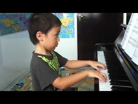 John thompson piano grade 2 no 18 starlight waltz (p 26) 星光圆舞曲