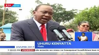 Rais Uhuru Kenyatta aahidi kuandaa mkutano na magavana kutatua swala la mgomo wa wauguzi