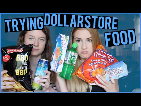 DOLLAR STORE FOOD TASTE TEST!