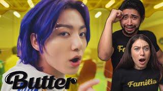 BTS 'Butter' Official MV - FIRST TIME SHOOK REACTION!