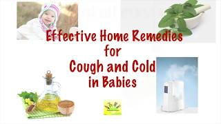 8 Cough and Cold Home Remedies for Babies