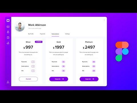 SaaS Web App UI Design in Figma: Step by Step tutorial