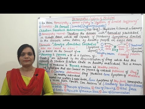 Homeopathic System of Medicine (Part-01)= Basic Concept and Principle (HINDI) By Solution Pharmacy