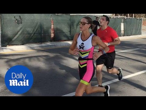 Lara Trump gives it her all in the Las Olas Triathlon - Daily Mail mp3