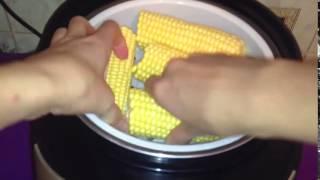 Как варить кукурузу для рыбалки в мультиварке на пару