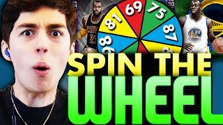 SPIN THE WHEEL OF PLAYER RATINGS! NBA 2K16 SQUAD BUILDER