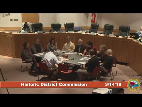 Historic District Commission 3.14.18