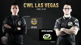 Optic Gaming vs Splyce HP CWL Vegas 12/7/18
