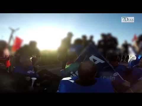 CARGAS POLICIALES A LAS PUERTAS DE LA PRISIÓN DE BADAJOZ
