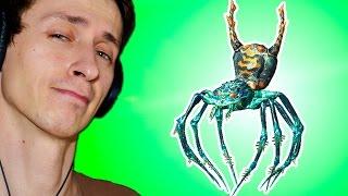 Секреты Skyrim #6. Ручные пауки)