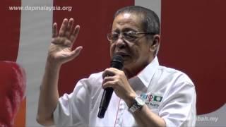 0407 Ceramah @ Senai By Lim Kit Siang 林吉祥
