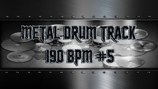 Heavy Metal Drum Track 190 BPM | Preset 3.0 (HQ,HD)