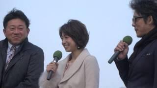 中村静香さんをメインで、阪神競馬場イベント。