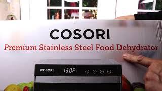 COSORI   ❤️ Food Dehydrator - Review    ✅