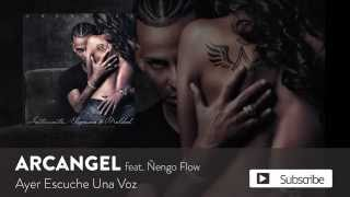 Ayer Escuché Una Voz  (Audio) - Arcangel (Video)