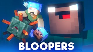 Ocean Monument: BLOOPERS (Minecraft Animation)