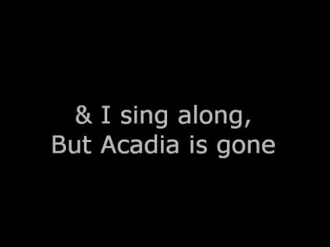 Acadia - Marianas Trench lyrics