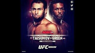 UFC Moscow: Майрбек Тайсумов против Десмонда Грина