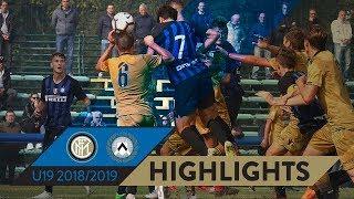 INTER-UDINESE 3-0   Highlights   PRIMAVERA 1 TIM 2018/19 Matchday 04