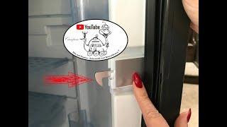 Wohnmobil-Reparatur: Kühlschrank- Verriegelung