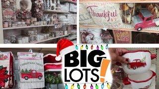 COME WITH ME TO BIG LOTS!!! CHRISTMAS 2018 & FALL HOME DECOR