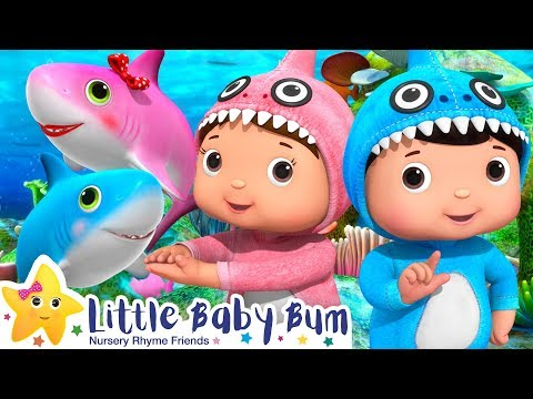 Baby Shark Dance | Baby Shark Challenge + More Nursery Rhymes & Kids Songs | Little Baby Bum