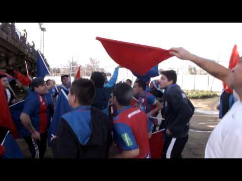 """""""Banda Azulgrana - La previa - Iberia de los Ángeles"""" Barra: Banda Azulgrana • Club: Deportes Iberia"""