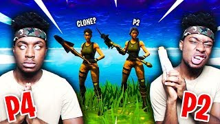 I FOUND MY *SECRET* TWIN BROTHER PLAYING FORTNITE DUOS...MEETING P4istheName!