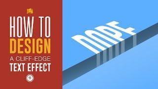 Illustrator Cliff Text Tutorial - Illustrator Text Effects