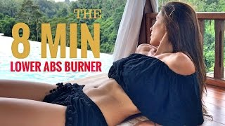 How To Flatten Your Lower Abs in 8 Min. | Abs Workout by Susana Yábar