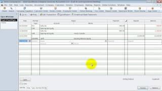 QuickBooks Training - Enter Beginning Balances