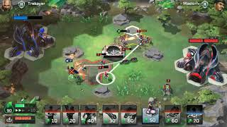 Command & Conquer: Rivals (Road to Diamond NOD gameplay) game 2