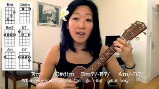 Moon River // Ukulele Tutorial
