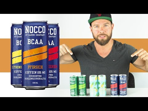 NOCCO BCAA Energy Drink🍹 im Review