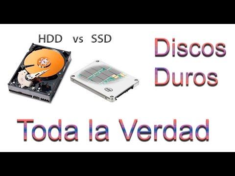 Discos Duros HDD y SSD - Toda la verdad