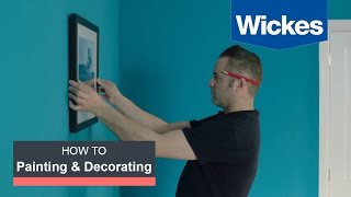How To Hang A Picture With Wickes