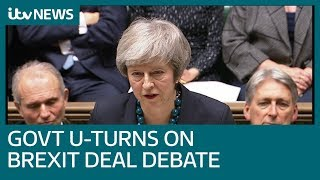 Theresa May confirms crunch Brexit vote delayed   ITV News